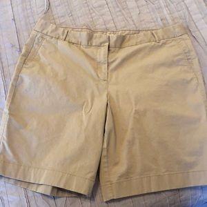 J Crew summer weight Bermuda shorts